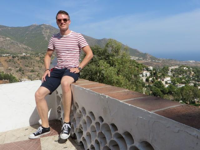 Photo of Markus Kreukniet in Mijas in Spain taken on september 2018